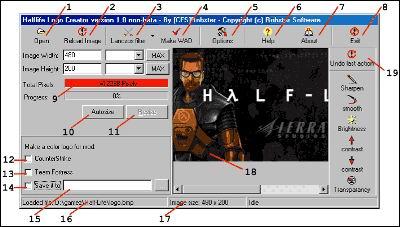 Hl: logo creator (spray)   counter-strike 1. 6 modding tools.